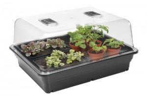 La mini serre chauffante, idéale pour les bouturages et les semis